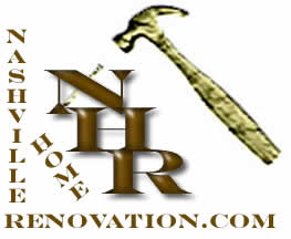 Nashville Home Renovation Hammer and Nail Logo